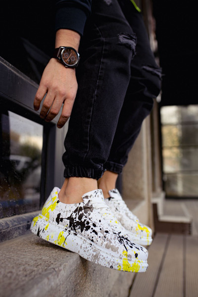 Chekich CH255 BT Men's Shoes the YELLOW SPOTTED